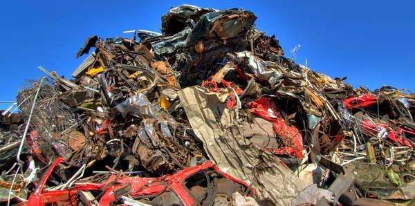 площадка по утилизации автомобилей