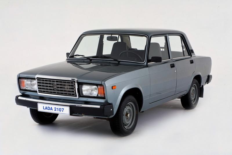Больше всего было продано ВАЗ 2107