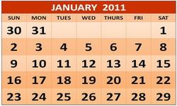 Продажи новых легковых автомобилей в январе 2011