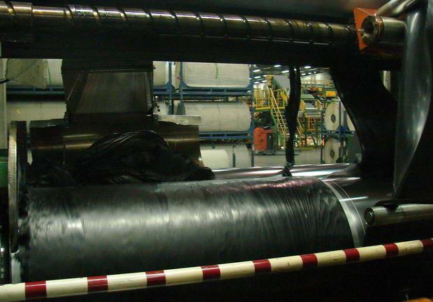обрезинивание текстильного корда