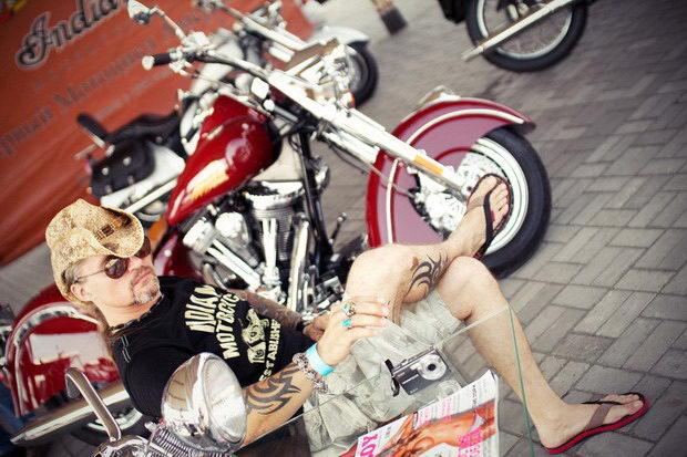 Экспозиция мотоциклов
