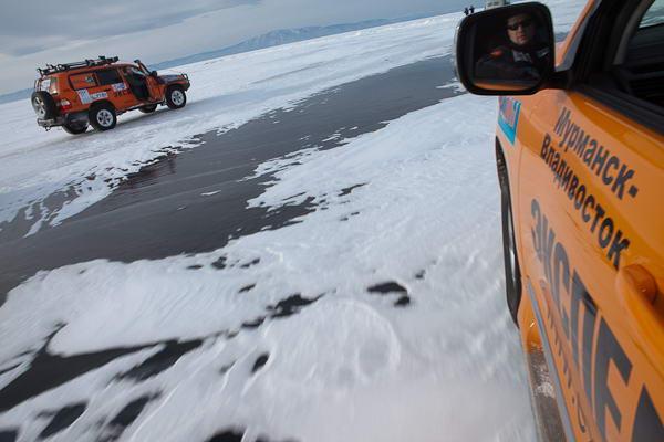 Экспедиция-Трофи на льду