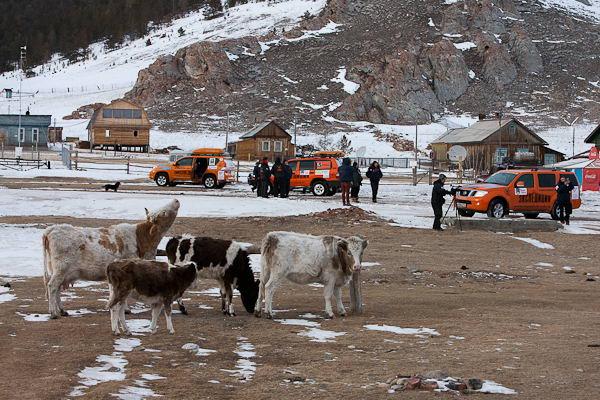 Остановка на берегу Байкала