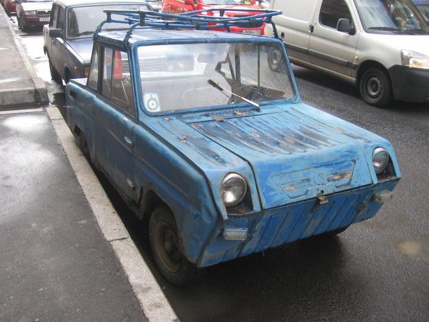 фото машины-инвалидки
