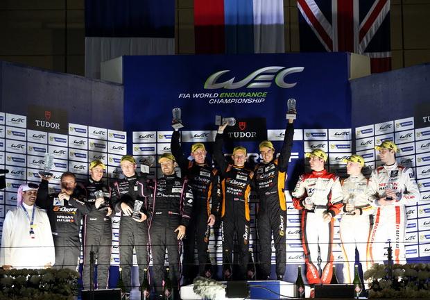 Награждение команды G-Drive Racing