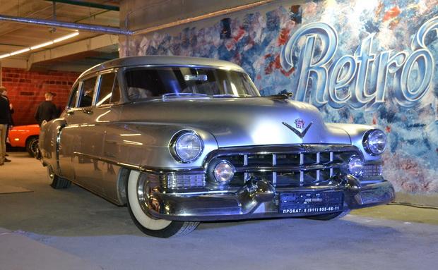 American car show
