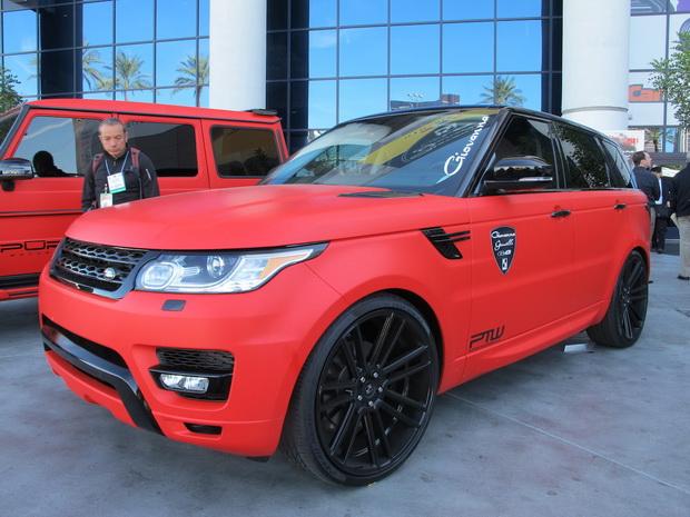 Land Rover SEMA 2013
