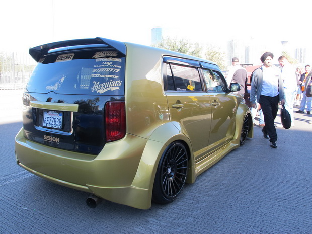 SEMA 13 air suspension tuning
