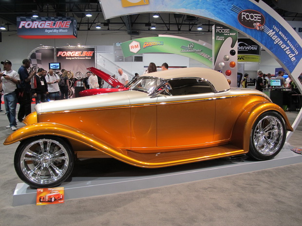 Golden roadster