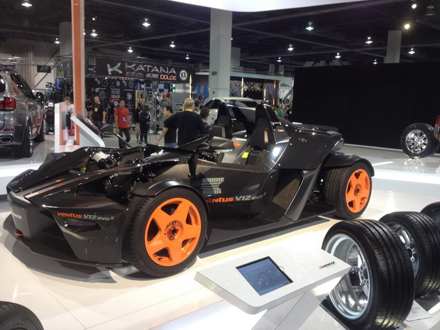 Hankook place on SEMA 2013