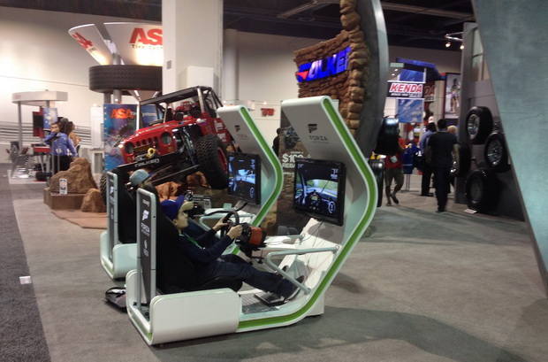 simulator on SEMA