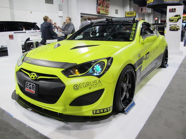yellow Hyundai