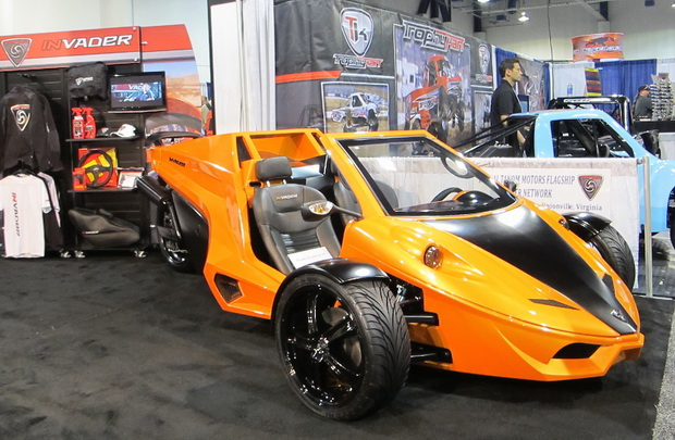 tricycle car on SEMA 2013