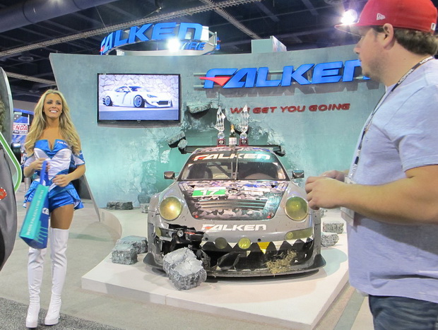 Falken company stand