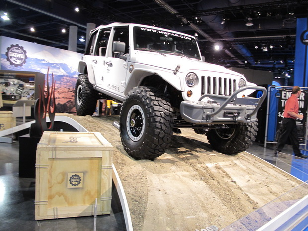 Jeep on SEMA 2013