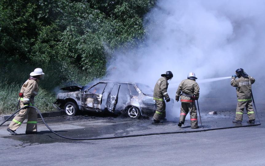 застрахованные автомобили стали чаще страдать от огня