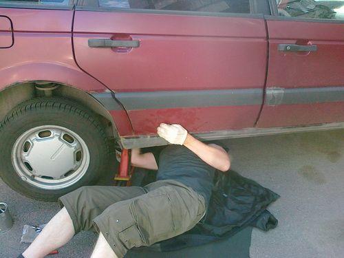 Самостоятельный ремонт старого автомобиля