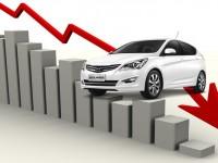 Падение рынка продаж легковых автомобилей в 2016 году в СПб