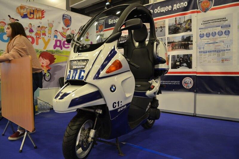 Полицейская мототехника