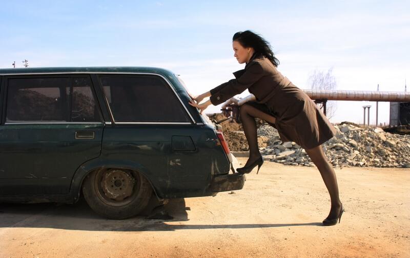 поломка машины