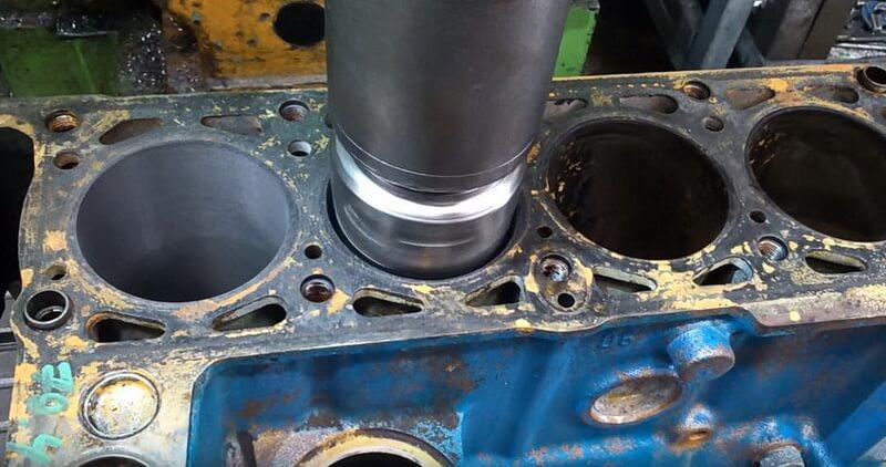 Расточка чугунного блока двигателя ВАЗ