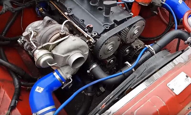 Турбокомпрессор на ВАЗ 2106