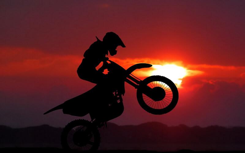 Pitbike motocross