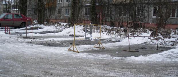 самозахват парковочных мест во дворах
