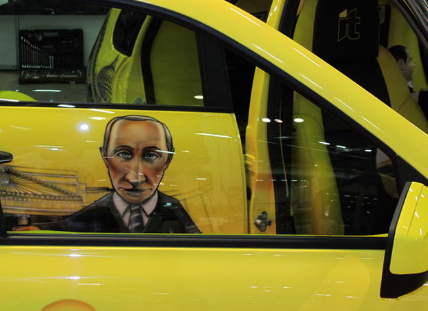 Путин на Калине