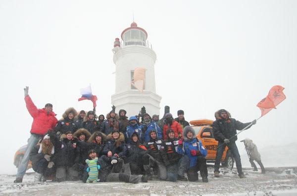 Старт Экспедиции-Трофи-2012