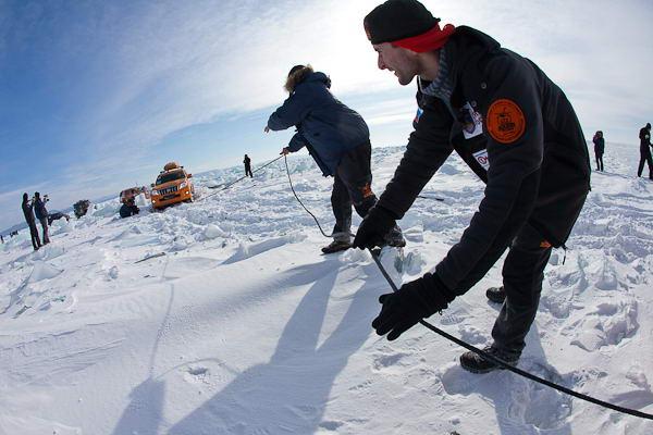 Экспедиция-Трофи в снегах
