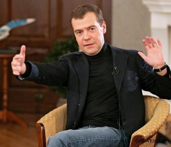 Медведев отменил талон техосмотра