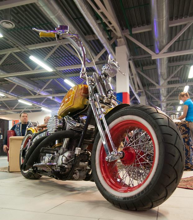 мотоцикл на ИМИС 2013