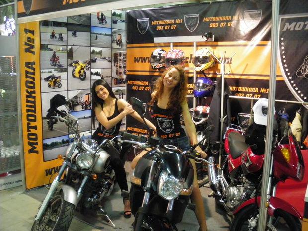 красивые девушки на мотоциклах
