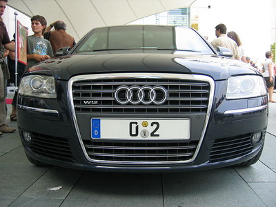 Audi A8 Ангелы Меркель