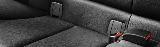 Крепления isofix в автомобиле