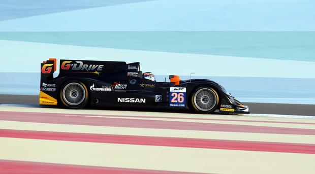 Болид команды G-Drive Racing