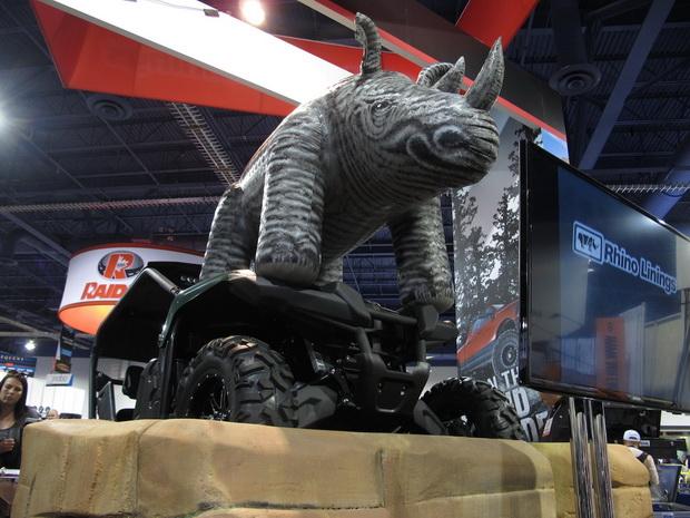 rhino on SEMA 2013