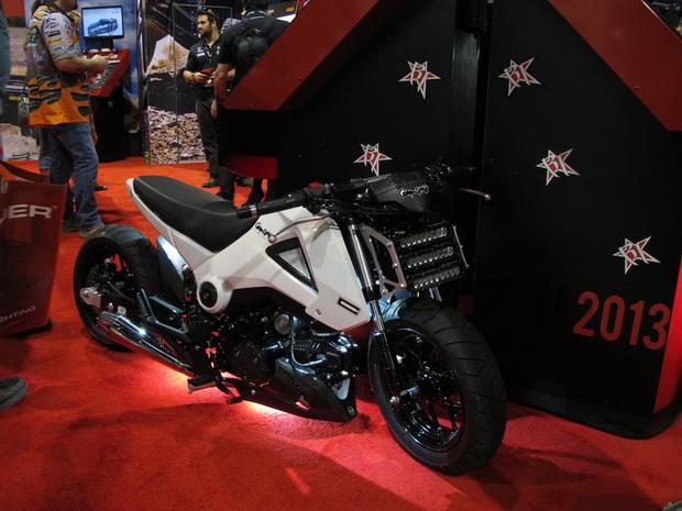 Motorcycle on SEMA 2013