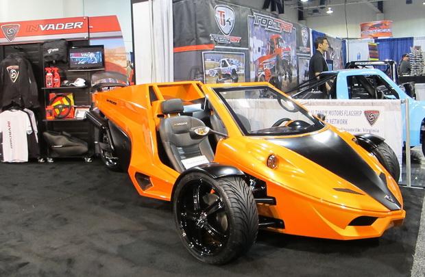tricycle car on SEMA 2013