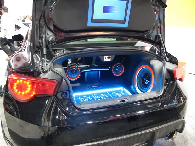 music in the trunk