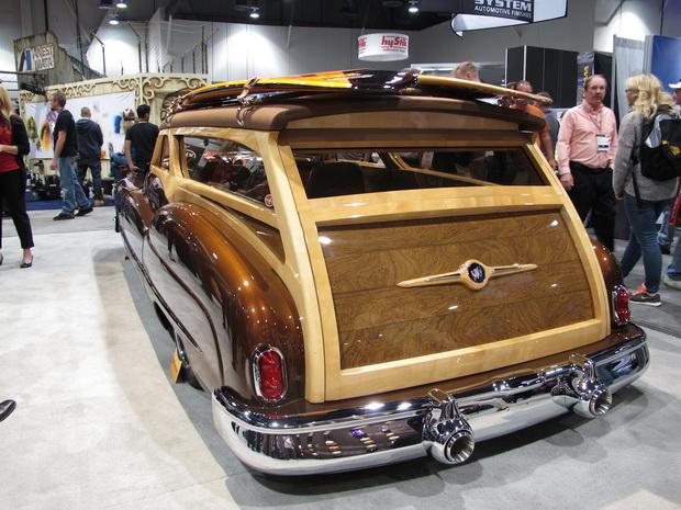 brown oldtimer back view