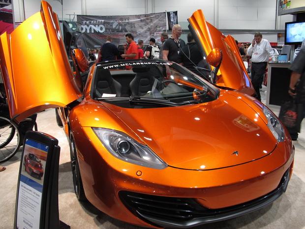 McLaren on SEMA 2013