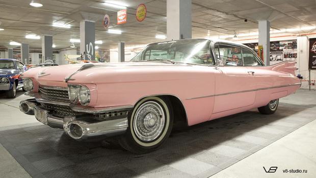 Cadillac Eldorado - любимая машина Элвиса Пресли