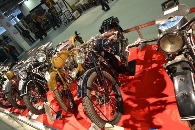 Отреставрированные мотоциклы