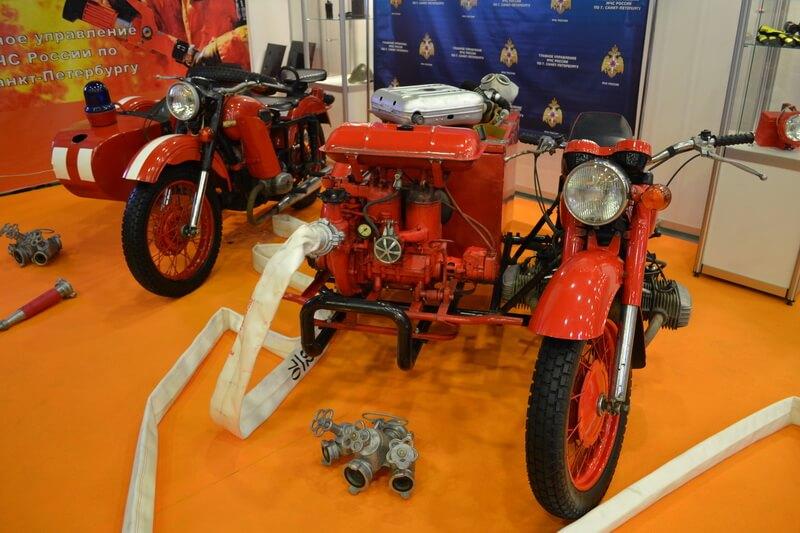 Пожарный мотоцикл, есть и такие