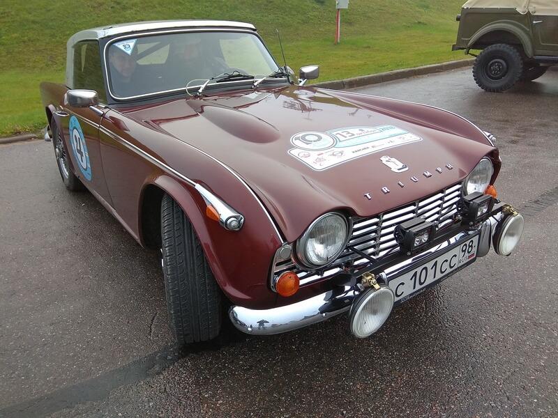 Triumph 1967 года выпуска