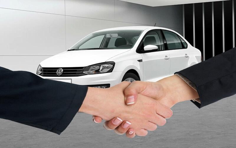 Сделка по продаже автомобиля