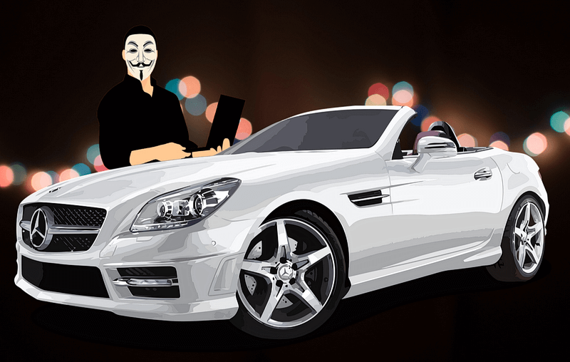 Угон автомобиля